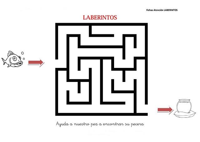 LABERINTOS FACILES
